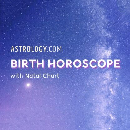 Birth Horoscope and Natal Chart